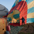 Balloon in Cappadocia, Turkey — Stock Photo