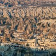 Goreme village in Cappadocia, Turkey — Stock Photo