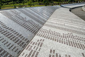Srebrenica Genocide Memorial — Stock Photo