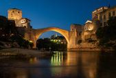 The Mostar bridge — Stock Photo