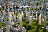 Cemetery in Sarajevo, Bosnia and Herzegovina — Stock Photo