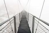 Metallic bridge — Stock Photo