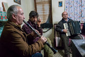 Musicians in Greece — Stock Photo