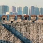 City walls of Istanbul, Turkey — Stock Photo