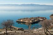 Озеро Охрид, Македония (бывшая югославская Республика Македония) — Стоковое фото