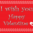 Valentine card1 — Stock Photo #18984747