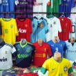 Football Kits — Stock Photo