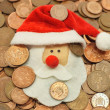 christmas money — Stock Photo