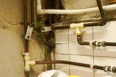 старые трубопроводы — Стоковое фото
