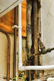 старые трубы — Стоковое фото
