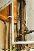Vecchi tubi — Foto Stock