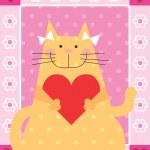 Love Cat — Stock Photo