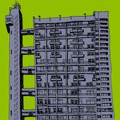 Tower block — Stock Photo
