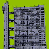 Tower block — Stock Photo