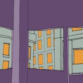 City Windows — Stock Photo