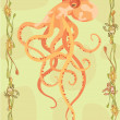 Octopus illustrative — ストック写真