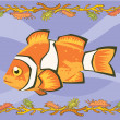 Stockfoto: Nemo, clown fish illustrative
