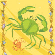 Crabs illustrative — Foto Stock