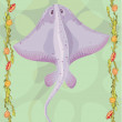 Stingray illustrative — Stok Fotoğraf #18029785