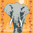 Elephant illustrative — 图库照片 #18029833