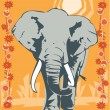 Elephant illustrative — Stockfoto #18029833