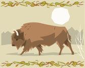 Hirsch illustrativen — Stockfoto