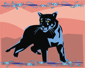 Puma poglądowych — Zdjęcie stockowe