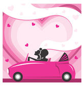 Love drives you away — Stock Photo