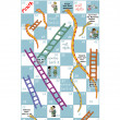 Постер, плакат: Snakes & Ladders game for hospitals