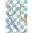 Stock Photo: Snakes and ladders