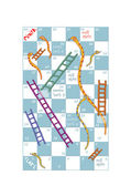 Snakes and ladders — 图库照片