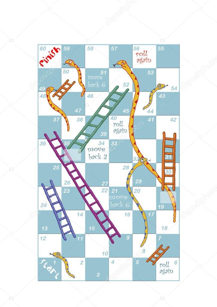 Serpientes y escaleras fotos de stock artistan 22853940 for Escaleras y serpientes imprimir