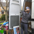 Stock Photo: Loading to Van