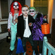 Three young Halloween boys — Stock Photo #23972347