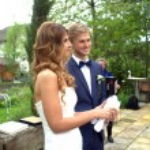 Garden wedding — Stock Photo #26063111