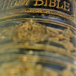 Stock Photo: Old bible