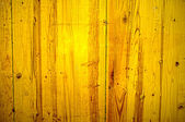 Painted yellow wood panel — Foto Stock
