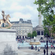 General view from Trafalgar Square — Stock Photo