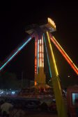 Funfair at night — Stock Photo