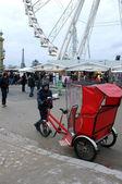 Rickshaw driver — Stock Photo