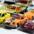 Vintage little toy cars — Stock Photo #46025085