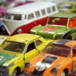 Vintage little toy cars — Stock Photo #46025119