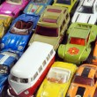 Vintage little toy cars — Stock Photo #46025135