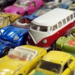 Vintage little toy cars — Stock Photo #46025183