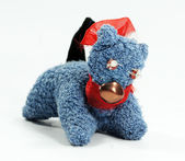Handmade textile toy — Stockfoto
