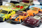 Vintage little toy cars — Photo
