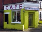 Small coffee shop — Stock Photo