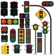 Royalty-Free Stock Vector Image: Traffic light vector