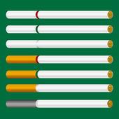 Cigarette Vector — Stock Vector
