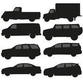 Vettore camion auto — Vettoriale Stock